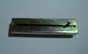 Фейдер стерео 100kAx2 88mm