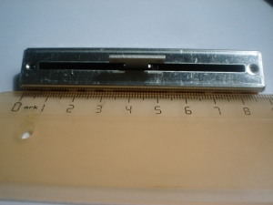 Фейдер моно 10kA ALPS 88mm