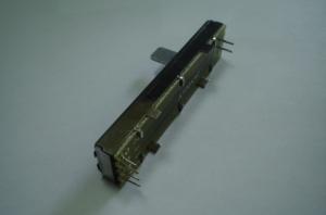 Фейдер стерео 100kAx2 74mm